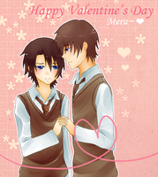 Be my Valentine~ by KuroiMamoru