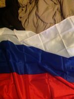 Russian flag by motorhea