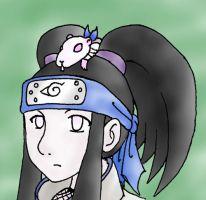 Nanami Has a Rat on Her Head by moley