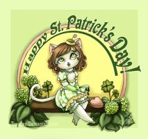 Happy St. Patrick's Day by Tsuchan