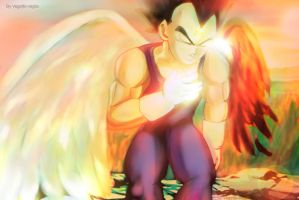 Broken Angel Vegeta DBZ by vegetto-vegito