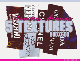 Famous Brands Textures 800x600 by Butterphil