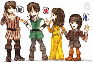 Auditore Siblings +Rivalry+ by Sho-saka