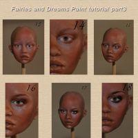 face painting tutorial part5 by fairiesndreams