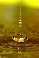 Gold Drops... by nurcem