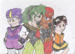 Team Chaotix Humanized by sonicfan546