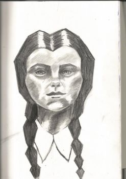 Wednesday Addams by iinvisiblemonsterss