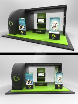 Etisalat booth by dongle70
