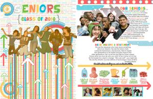 Yearbook Senior Spread by dhosford