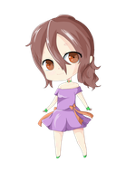 Celu Chibi Pixel by CeloTheImpossible