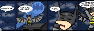 ...I'm BATMAN... by beaniekitty