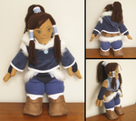 Commission - Korra Plushy by yinza