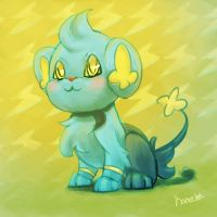 Shinx and Bolts by Kamocha