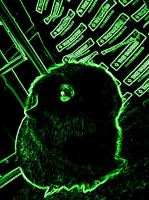 green green guinea pig by cottoncandycookie