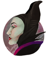 September sketch - Maleficent by Eris-e