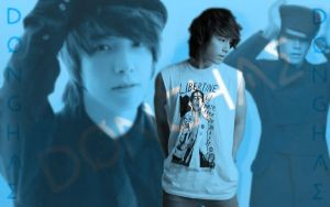 Donghae wallpaper by Nicolca94