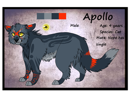 Apollo Ref sheet by Wolfvids