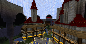 The Tekkit Kingdom The Market *WIP* by AwesomeLemon