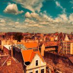 over the roofs by ildiko-neer