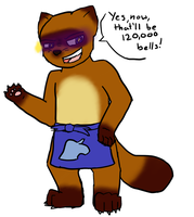 tom nook by Jennvan