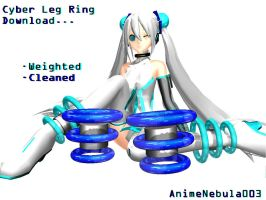 Cyber Leg Rings DL! by AnimeNebula003