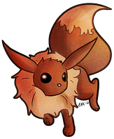 Eevee by Blubble-The-Blubs