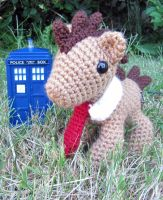 Chibi 10th Dr Whooves by NerdyKnitterDesigns