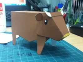 Square Cow by JayvPToy