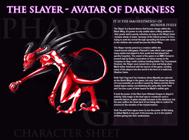 The Slayer - Pharaoh's Gate CSheet by DeadlyObsession