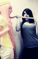 AT: Oh Marceline... by xunsunghero
