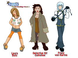 :PW Genderbender batch two: by CharlieIsAMystery