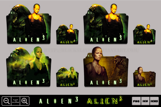 Alien 3 (1992) Folder Icon Pack by Bl4CKSL4YER