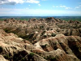 The Badlands by dusthimself