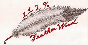 112 Feather Wood by DyingBreedDesigns
