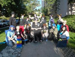 Homestuck Cosplay: All of Them by symphybunny