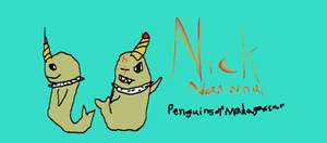 Nick Narwhal from  P.O.M. by SonicFreak4455