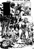 Hack/Slash  Issue #19 page 1 ink by alucard3999