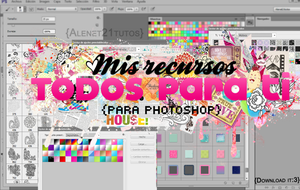 Todos mis recursos {para photoshop} by alenet21tutos