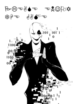 Spoopy Gaster by Whateverchancomics