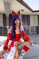 Ahri from league of legends by hexgirl6