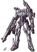 IFS mecha - D-Sage Elite by Frost7