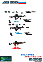 Concept Weapons AK113 Pixel Art by Luckymarine577
