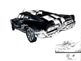 Shelby GT 500 - Sexy! by SamanthaErikArt27