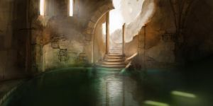 The Bath House by jjpeabody