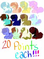 MLP 20 point adopts .: OPEN :. by S-K-Y-L-I