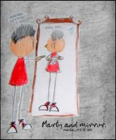 Marty and Mirror by maybe55