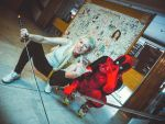 Yo-landi and Deadpool by Megane-Saiko