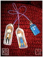 Doctor Who charms -for sale- by AutumnPendullum