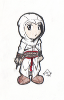 Chibi Altair by lyphesis