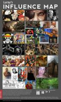 Influence Map by Luray